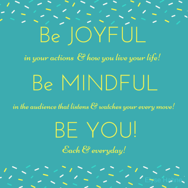 Be joyfulmindyou