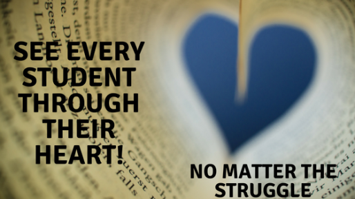 See the studentthrough their heart!