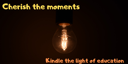 Cherish the moments of light (1)