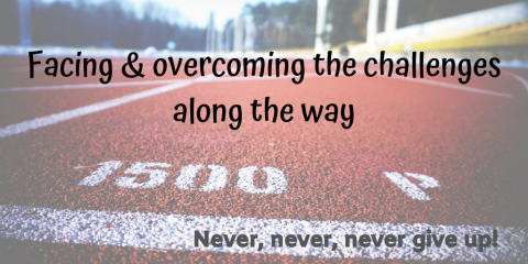 Facing the challenge & overcoming circumstances